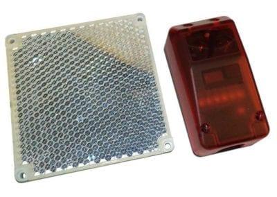 Φωτοκύτταρα ασφαλείας με ανακλαστήρα